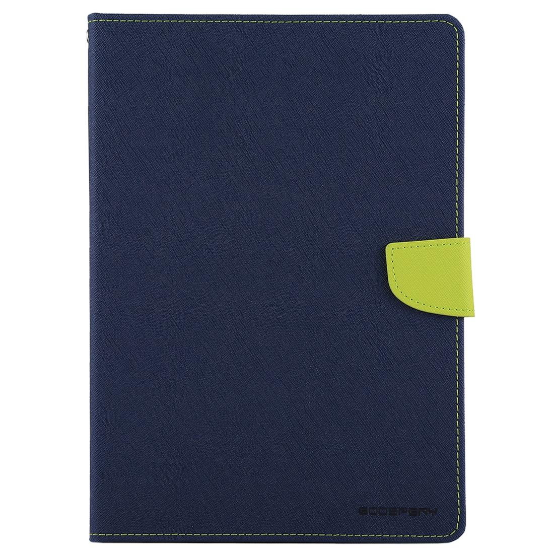 iPad Air Case Cross Texture Leather Case with Sleeve & Slim Profile (Navy Blue)