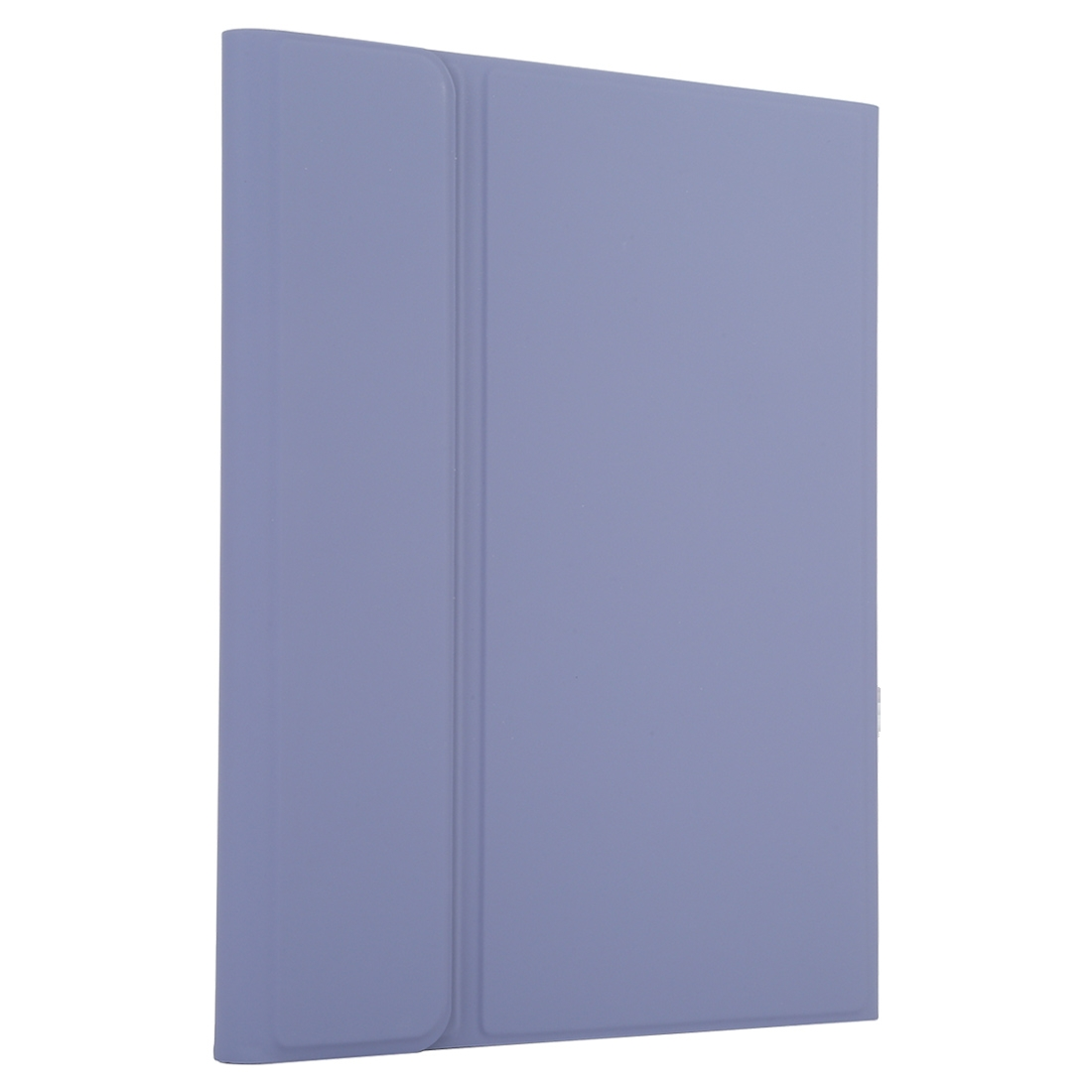 iPad Case With Keyboard & Bluetooth For iPad 10.2 Inch, Features Leather Case & Touchpad (Purple)