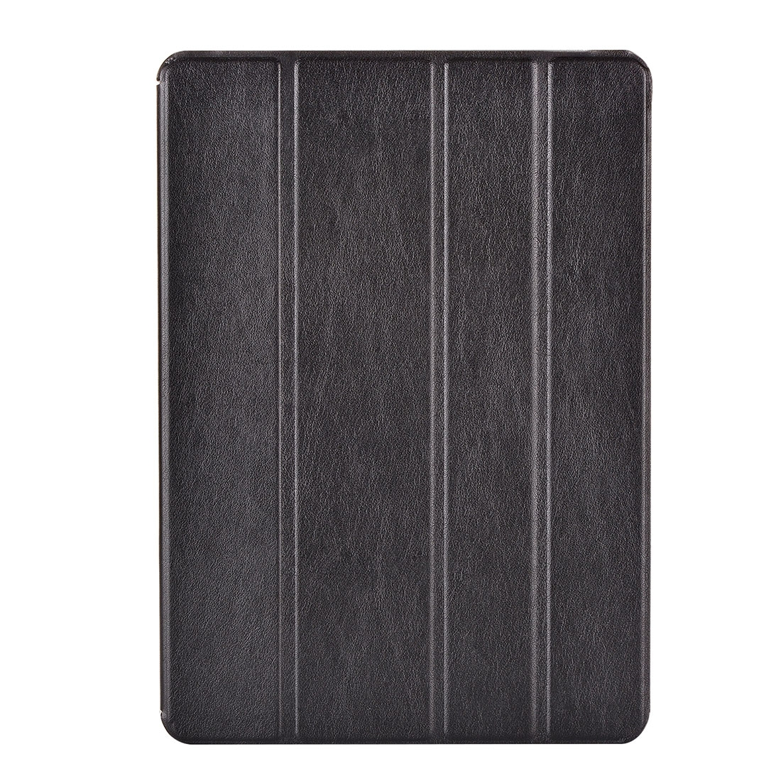 iPad Air Cover Features A Stylish Protective Genuine Leather Casing And A Quad Fold Stand (Black)