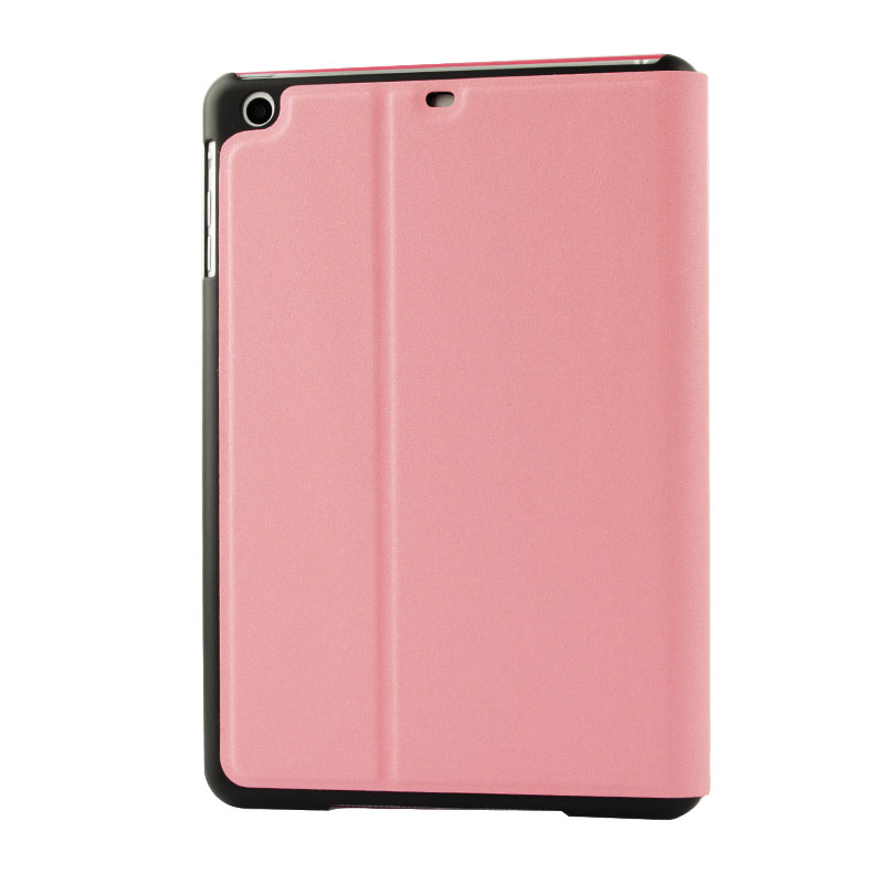 Frosted Texture Leather iPad Air Case (Pink)