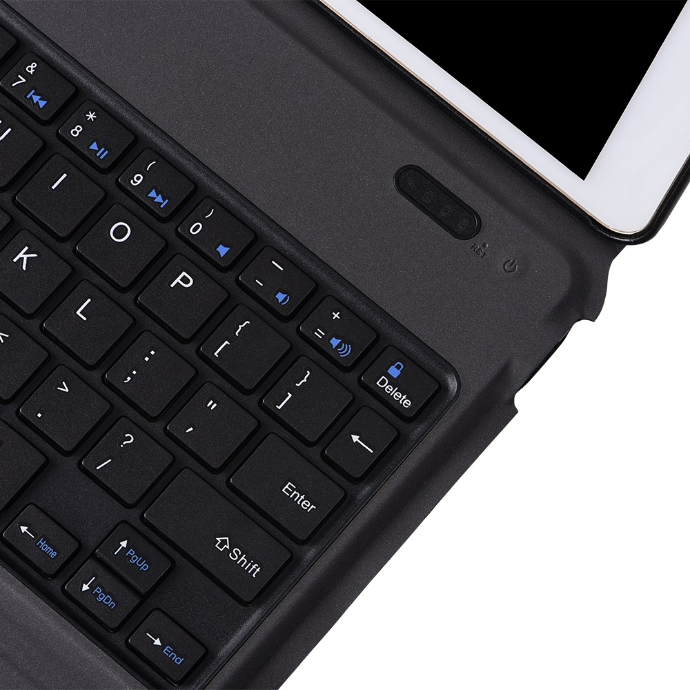 iPad Case With Keyboard & Bluetooth For iPad 10.2 Inch, Features Protective Leather Case & Keyboard