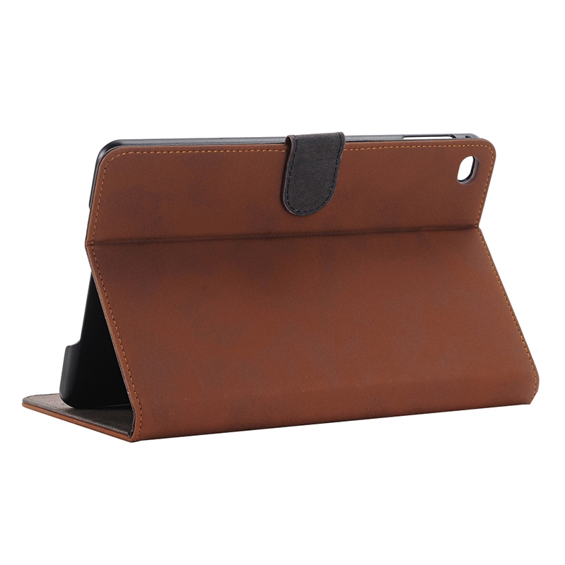 Archaize Texture Leather iPad Pro 12.9 Case (Coffee)