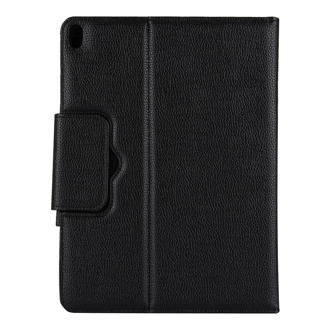iPad Pro 12.9 Case With Keyboard (2018) With Leather Case & Detachable Keyboard (Black)