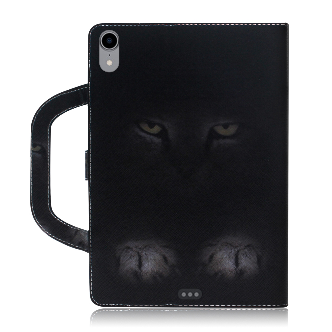 Cat Pattern Leather iPad Pro 11 Case (2018), with Sleeve