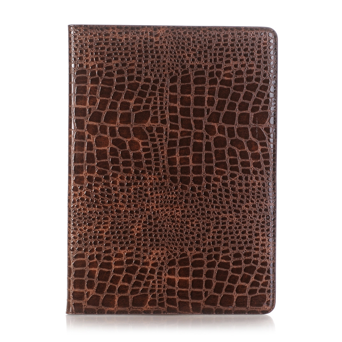 Crocodile Texture Leather Case, For iPad Air 2 Case With Slim Profile (Brown)
