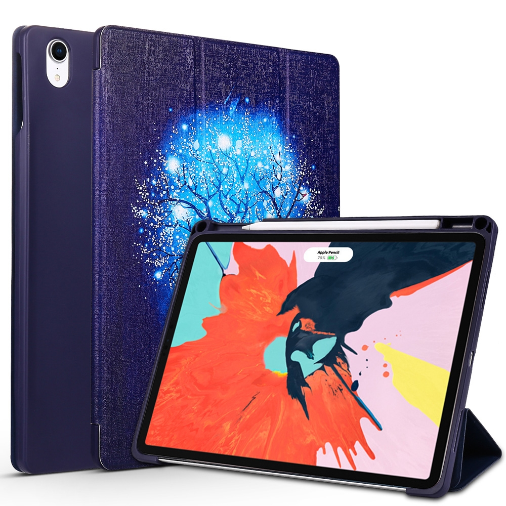 Blue Tree Leather iPad Pro 11 Case (2018), with Pen Holder