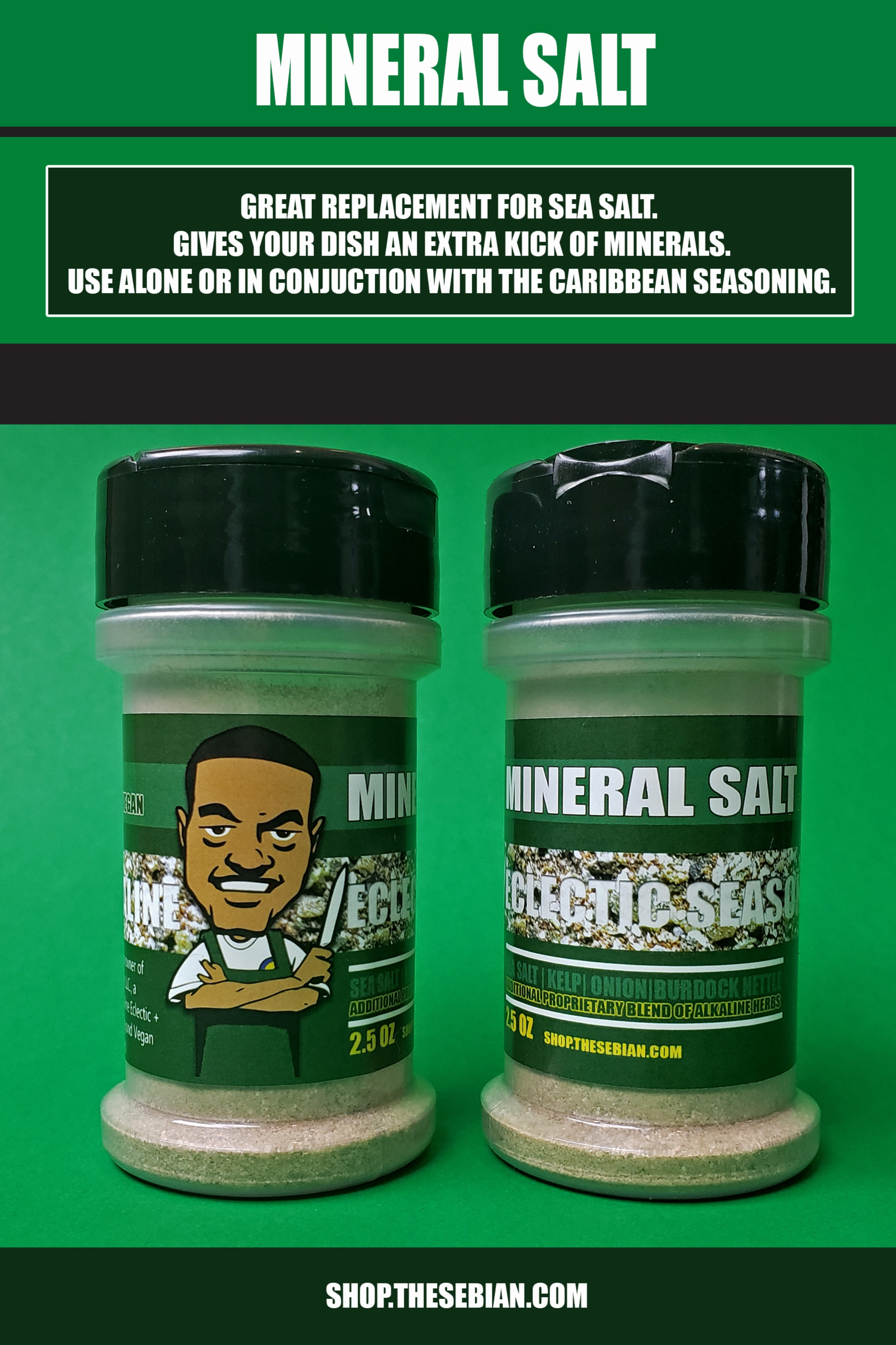ALKALINE SEASONING 2 PACK