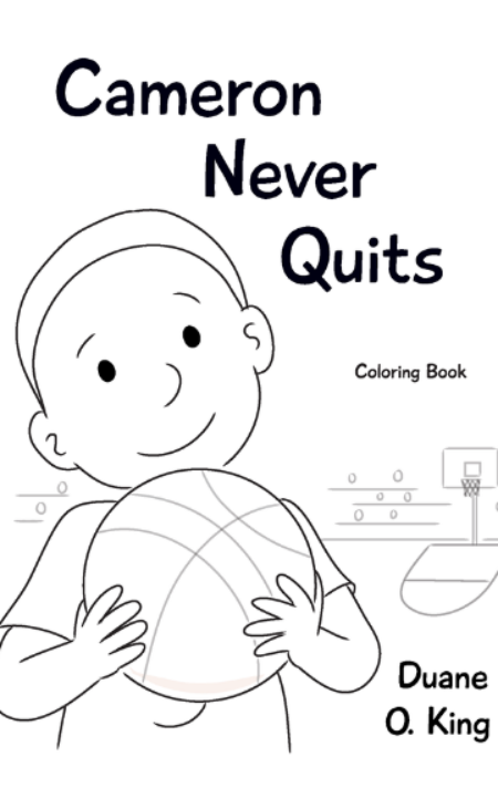 Cameron Never Quits + Coloring Book Bundle
