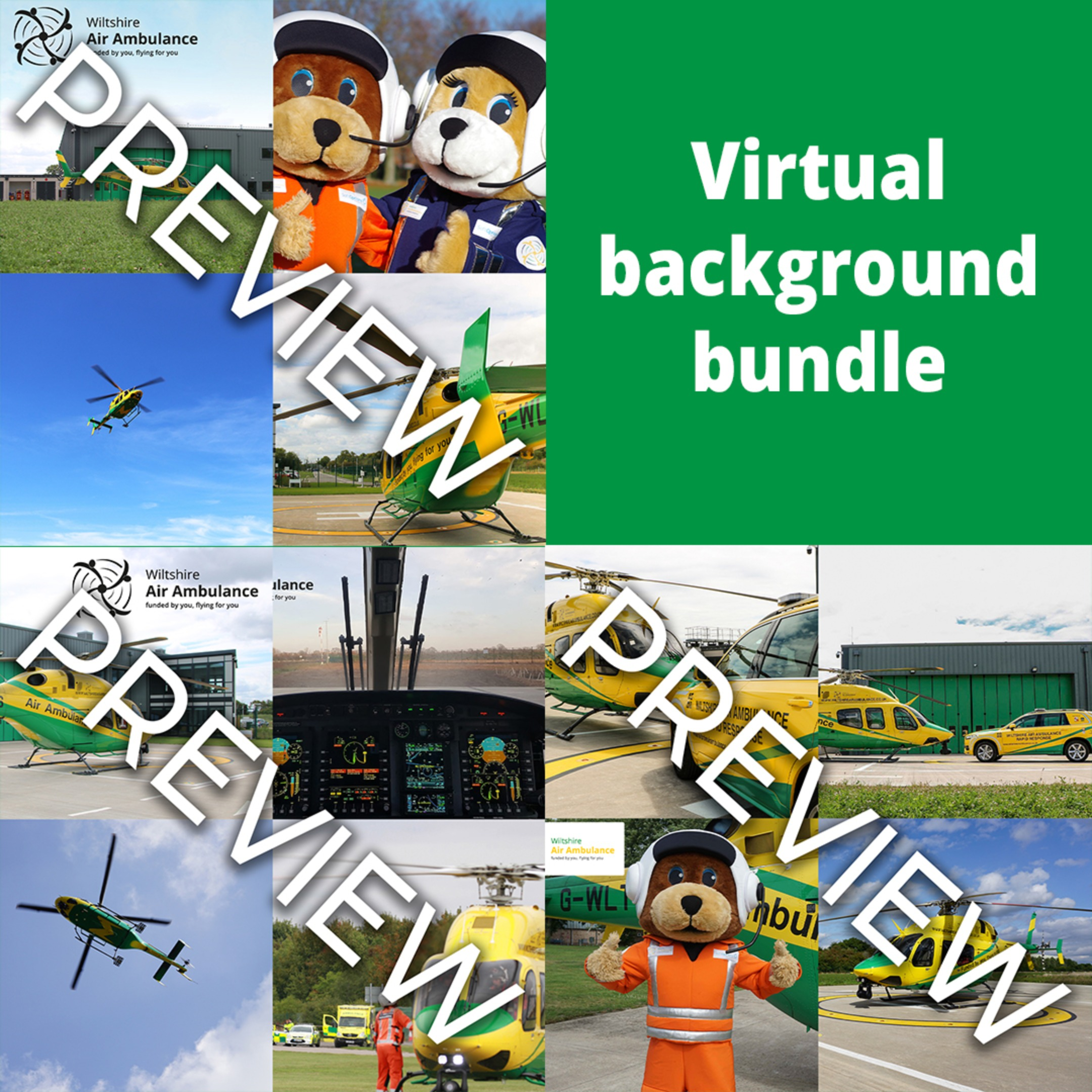 Virtual Backgrounds - Full Bundle