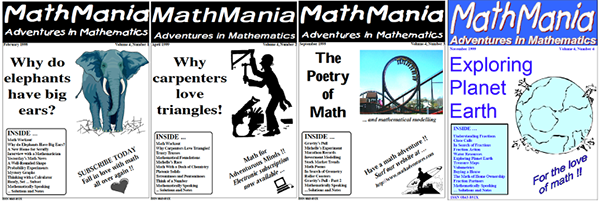 MathMania: Adventures in Mathematics, Volume 4