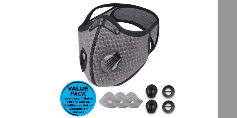 Airlite Sports Mask | Metal Grey