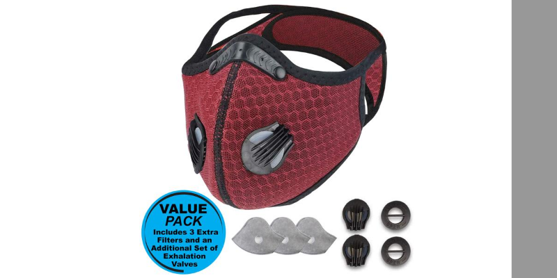 Airlite Sports Mask | Comet Red