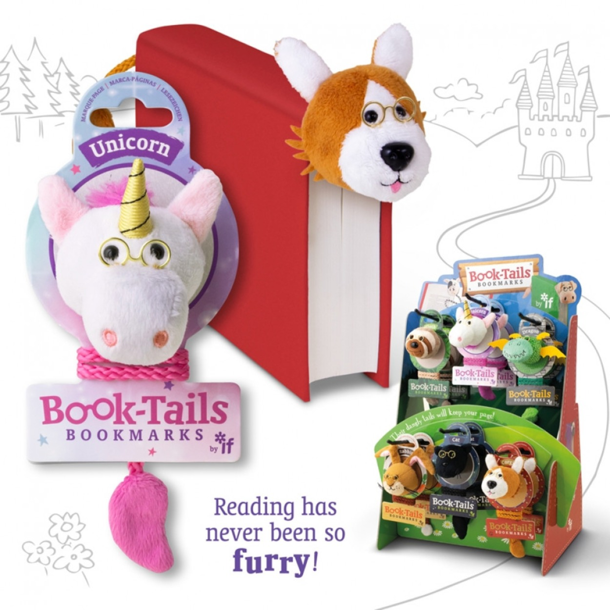 Book Tails Bookmarks