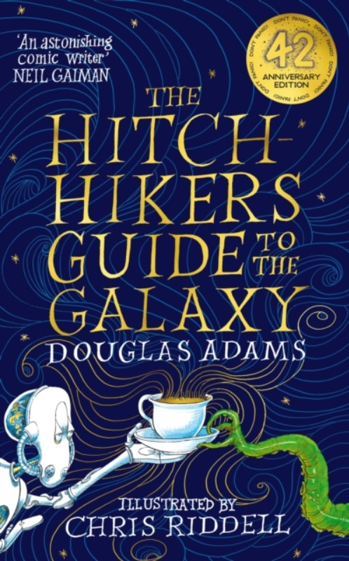 **PRE-ORDER** The Hitchhiker's Guide to the Galaxy Illustrated  - Douglas Adams & Chris Riddell