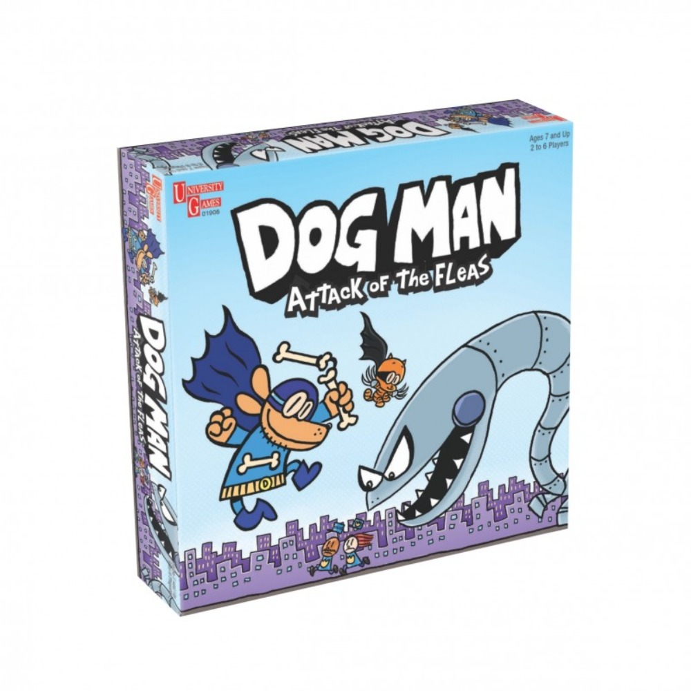 Dog Man Attack of the Fleas Board Game