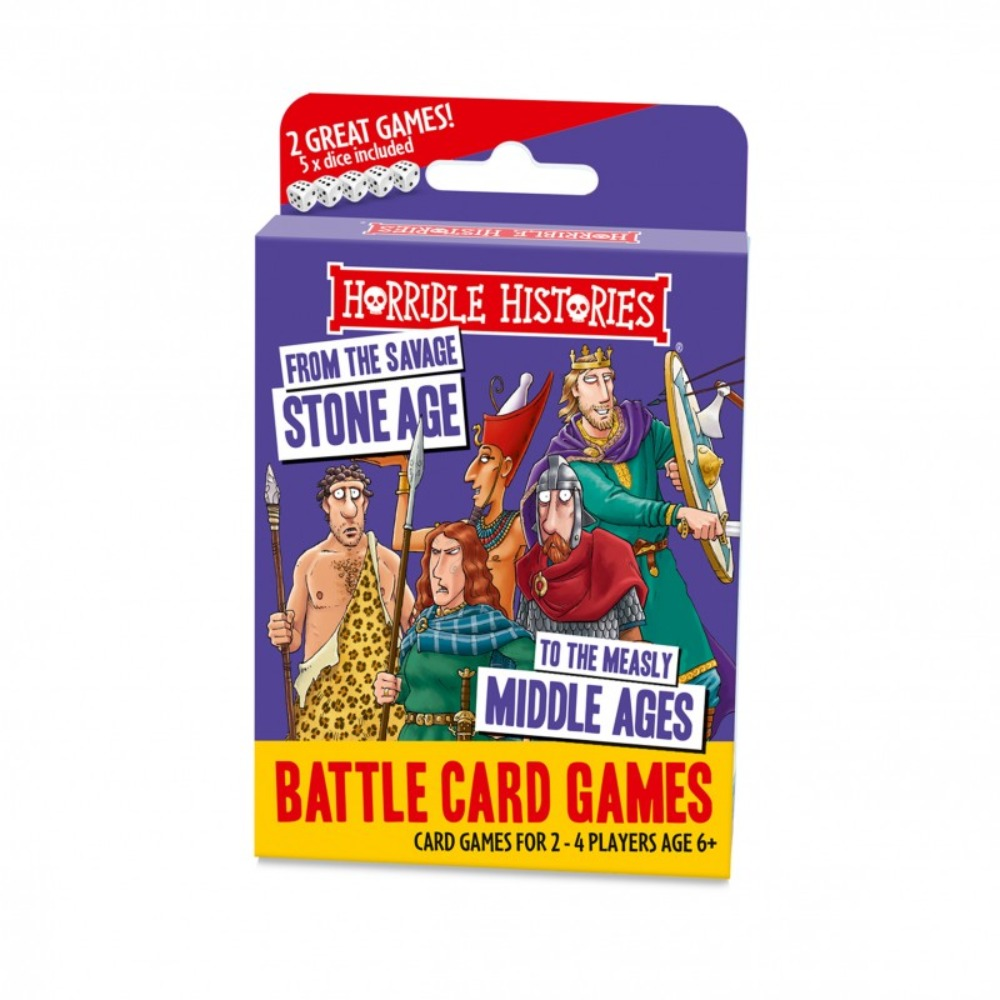 Horrible Histories Stone Age Card Game