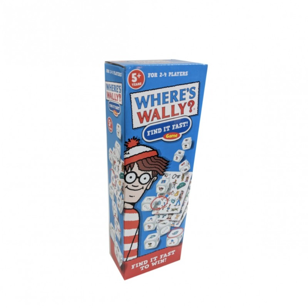 Where's Wally Find it Fast Game