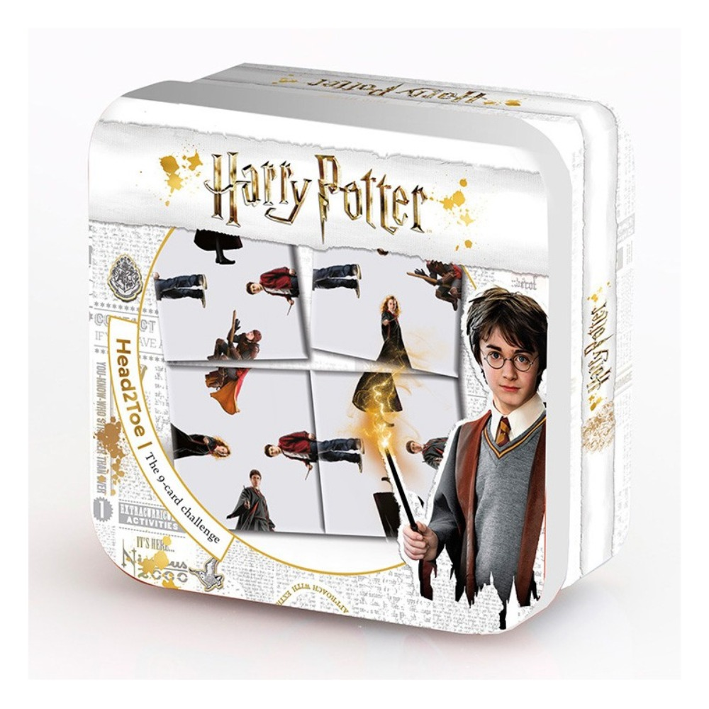 Harry Potter Head 2 Toe Ultimate 9 Card Puzzle Challenge