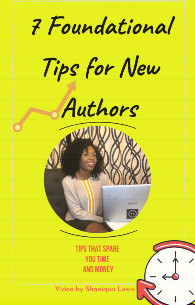 7 Foundational Tips for New Authors