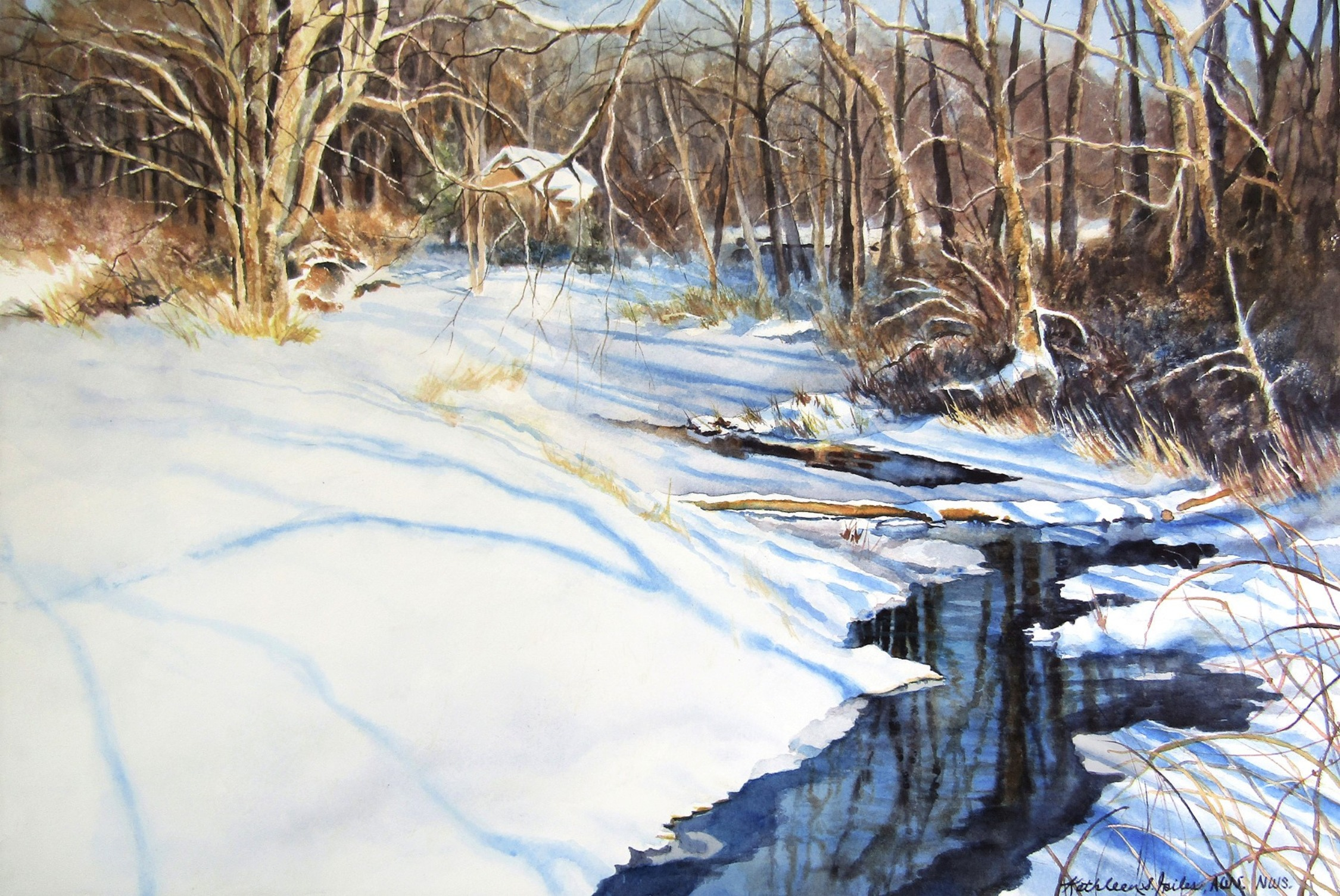 Winter Creek Workshop ~ Previously recorded