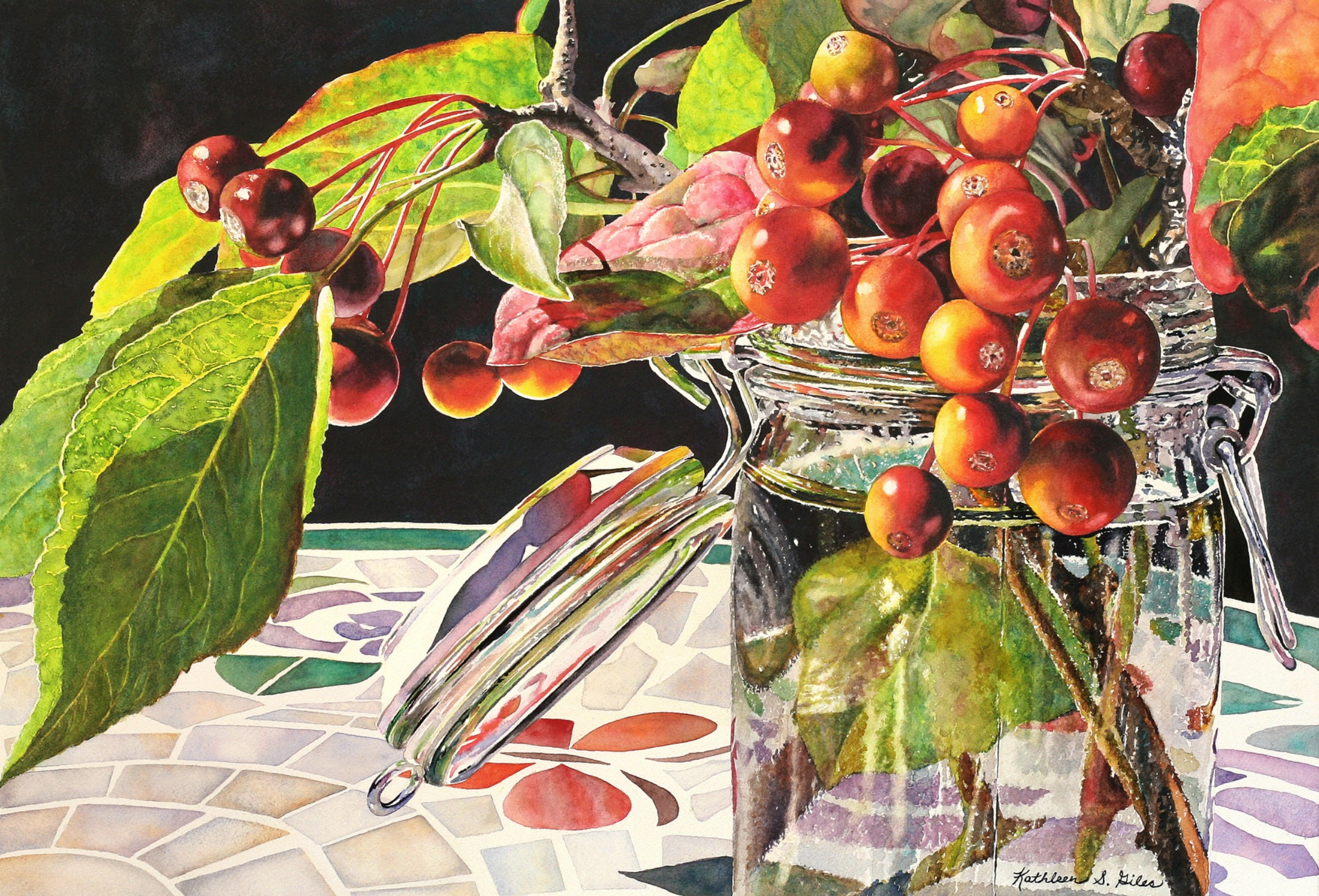 Crab Apple Still-Life
