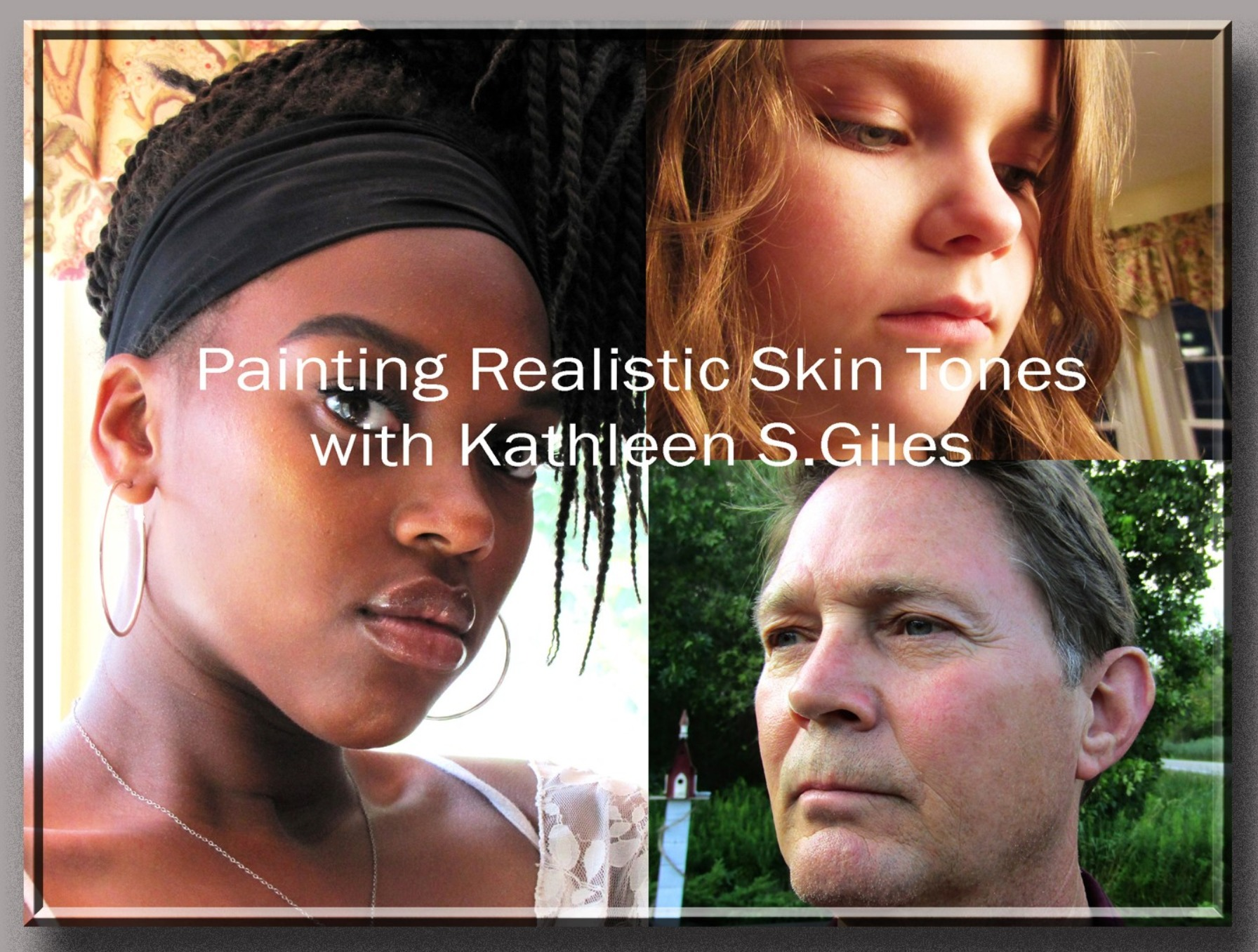 Painting Realistic Skin Tones ~ Workshop (Previously recorded)