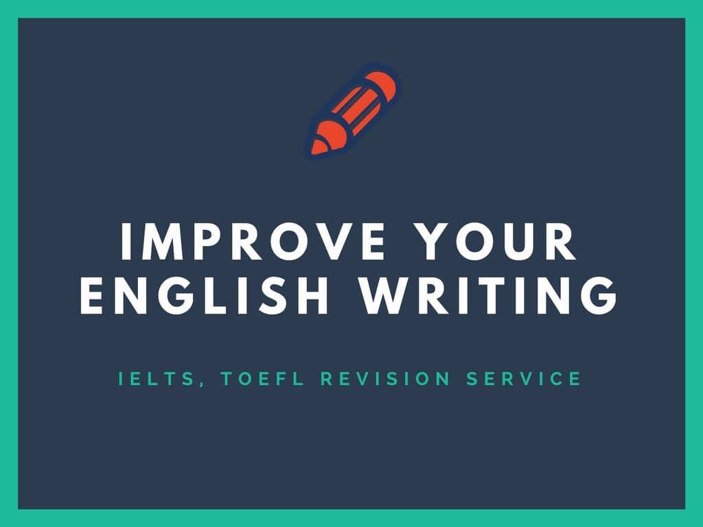 Improve Your English Writing - Booster