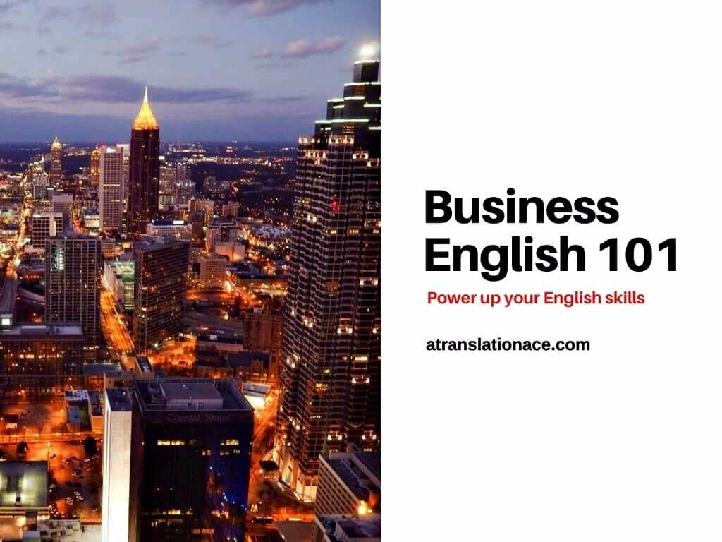 Business English 101 Course