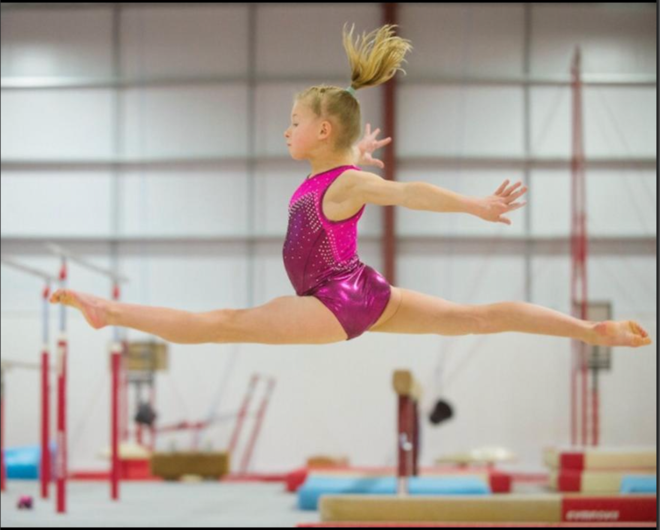 SPINS & LEAPS - TUESDAY 2ND MARCH 5:00pm only for gymnasts that train 6hrs +