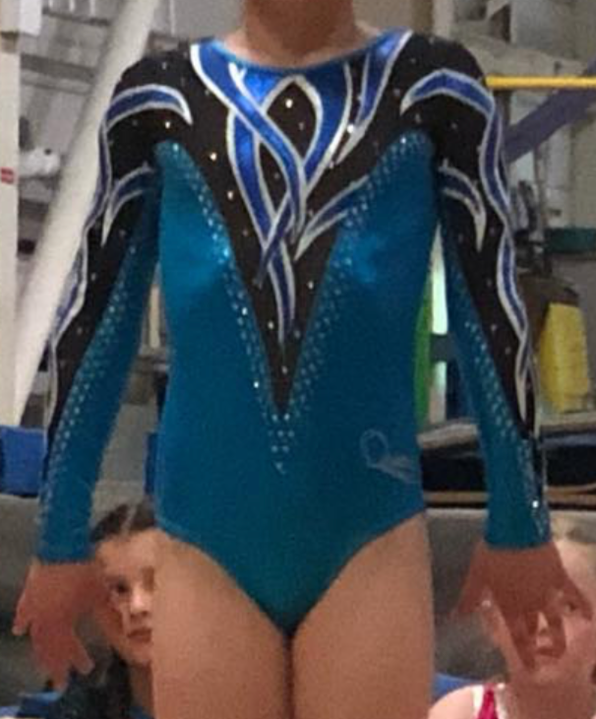 Falcons Girls Competition Leotard Hire