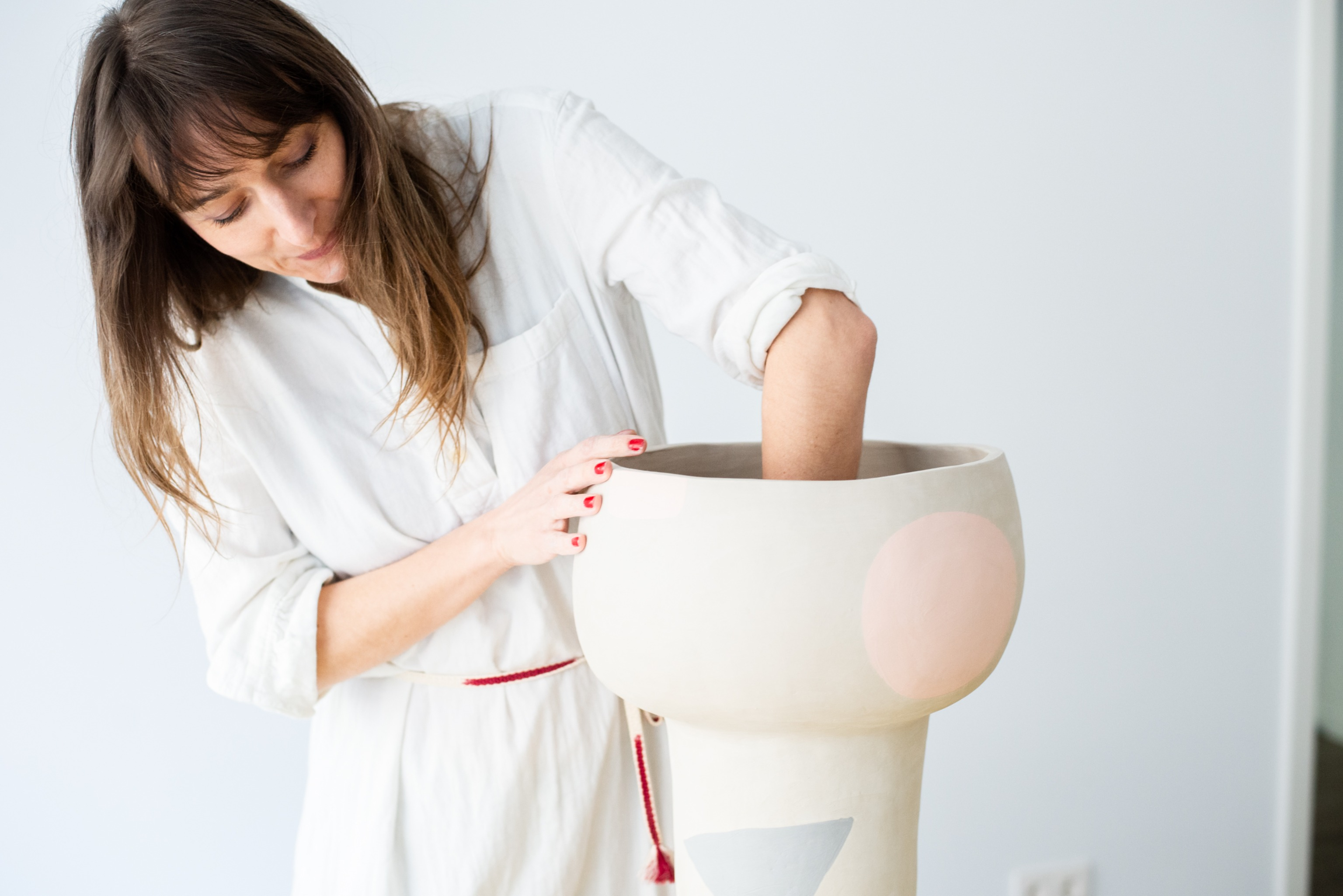 Creating a ceramic vessel for beginners and advanced