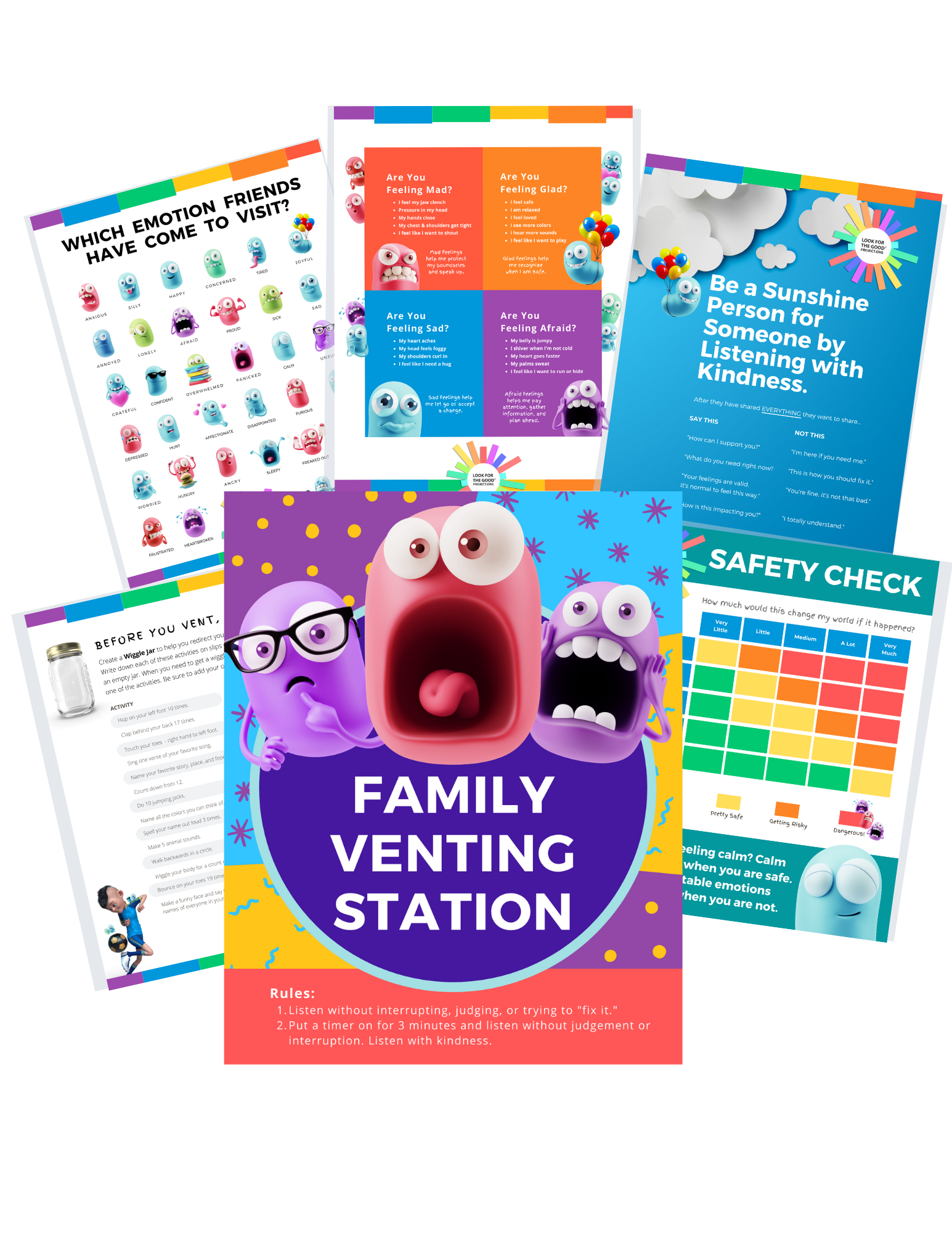 Family Venting Station Printable