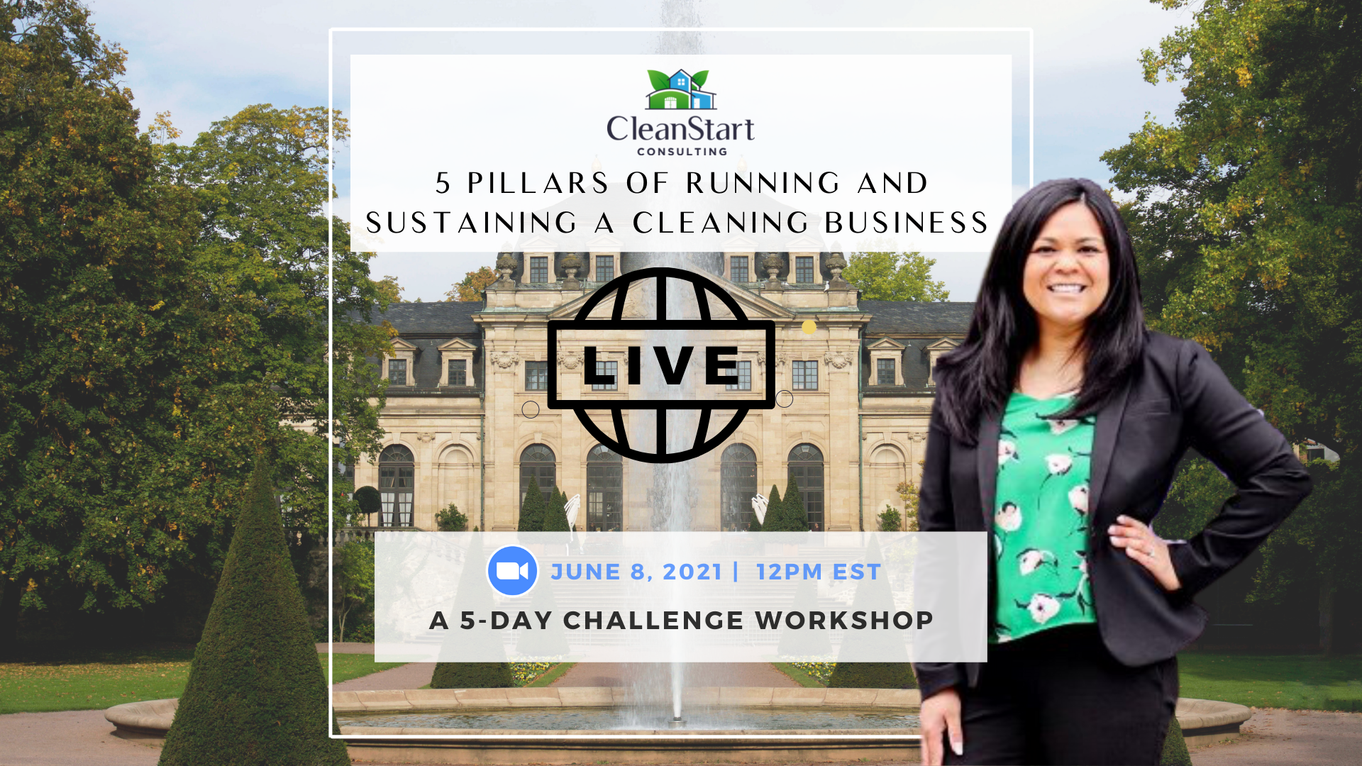 5 Pillars of Running and Sustaining a cleaning Business Workshop