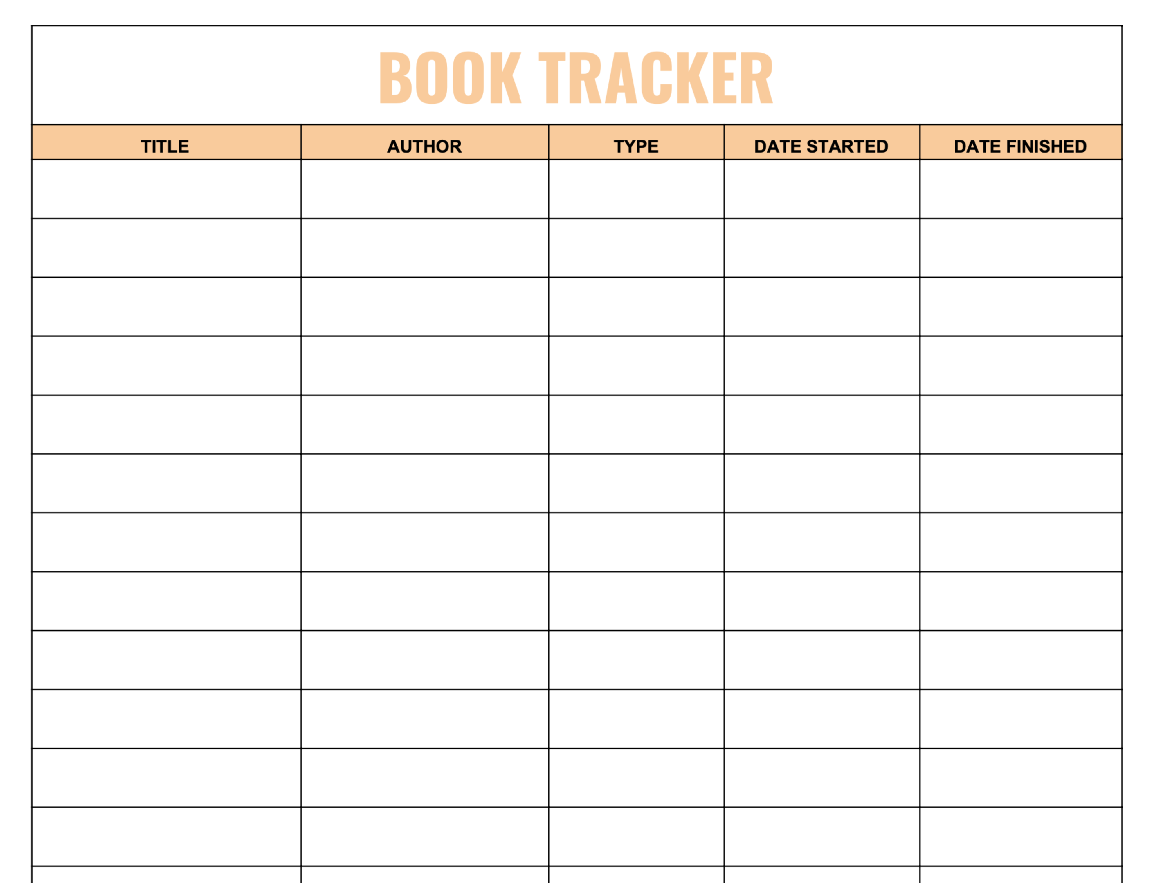 Book Tracker Download