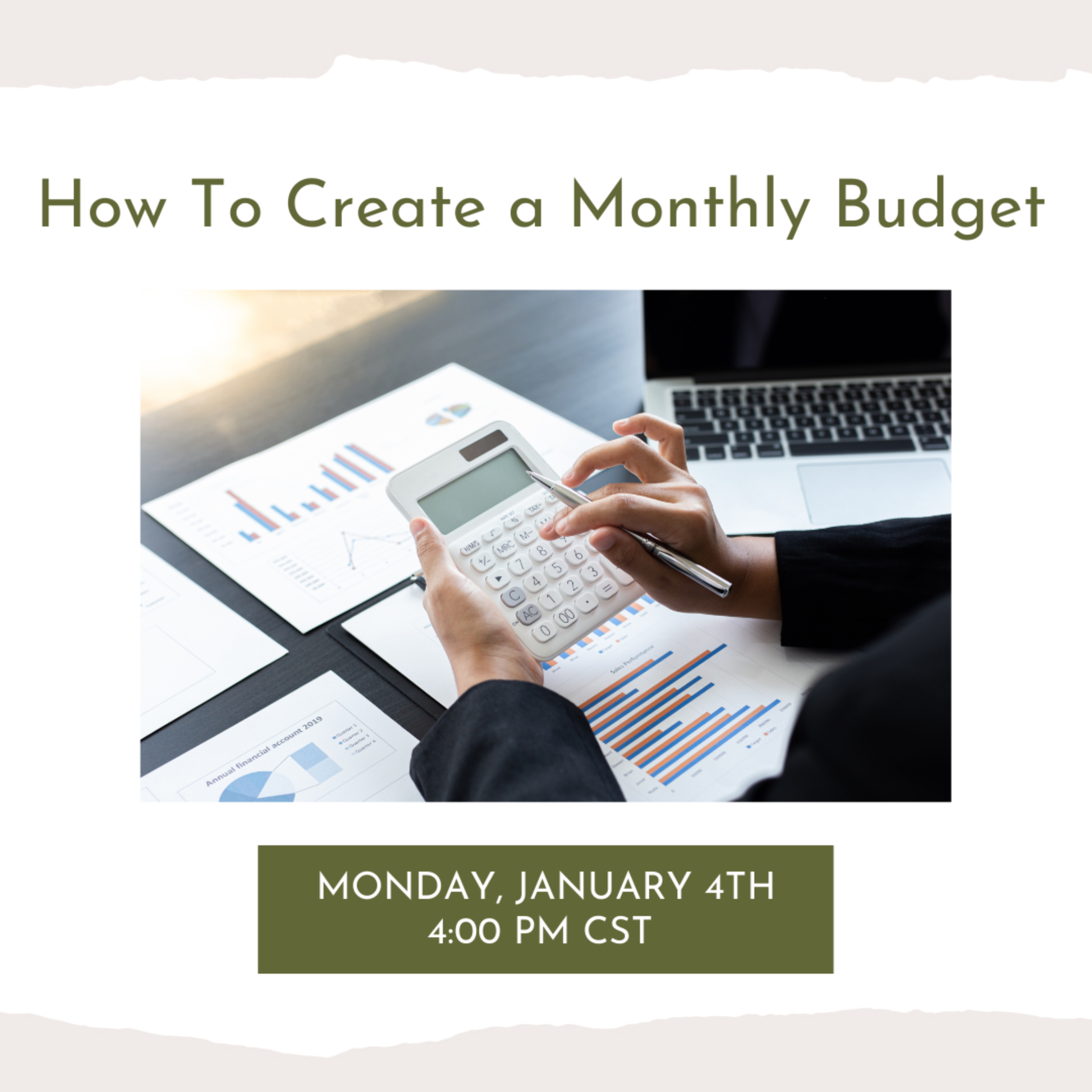 How To Start A Monthly Budget