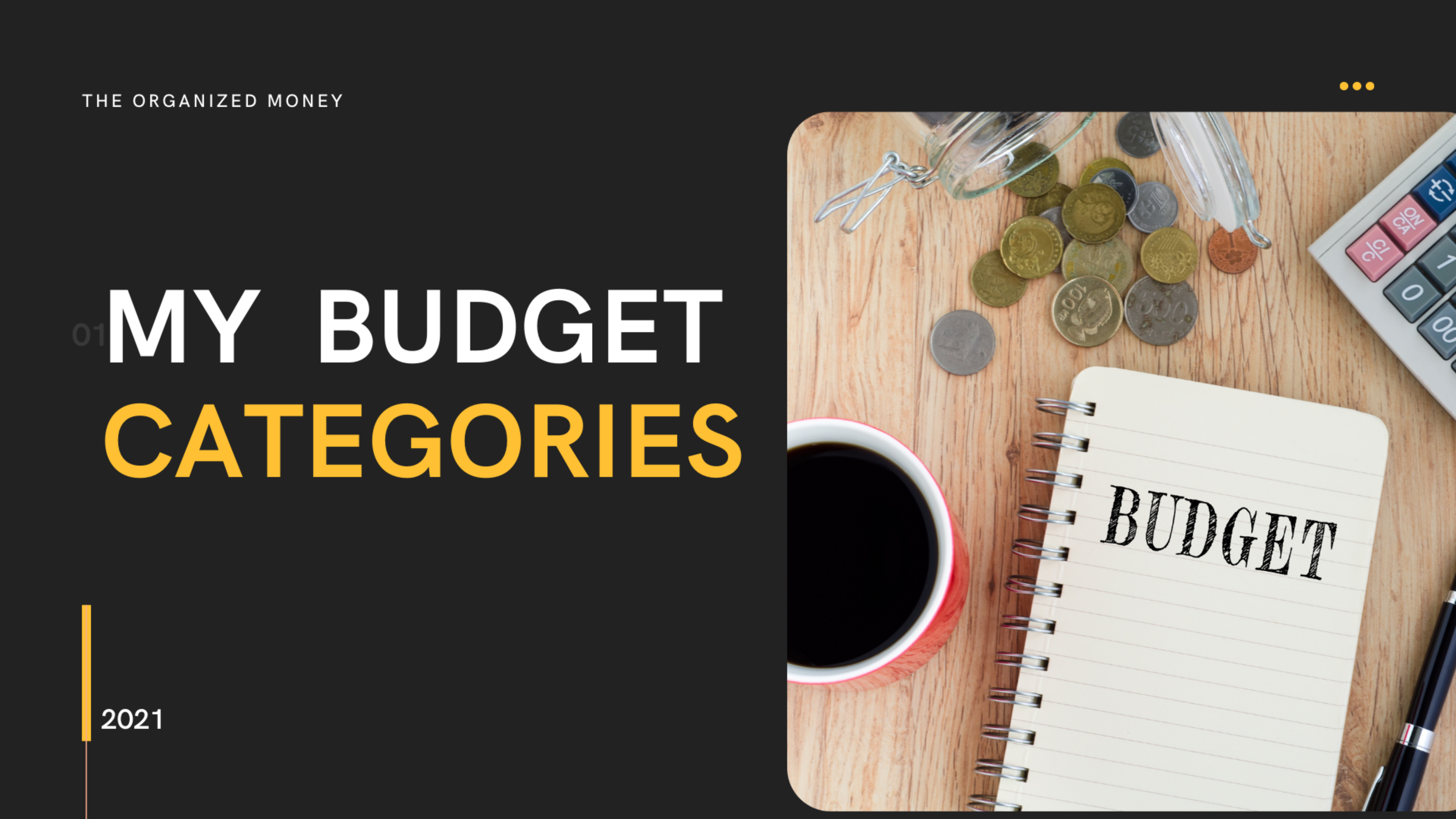 Creating Your Budget Categories