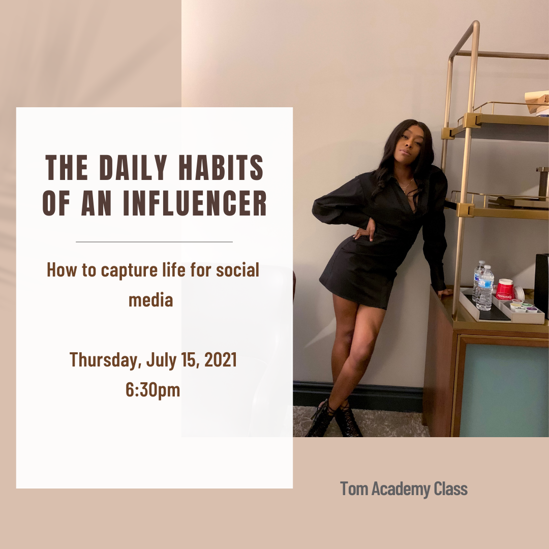 The Daily Life of An Influencer