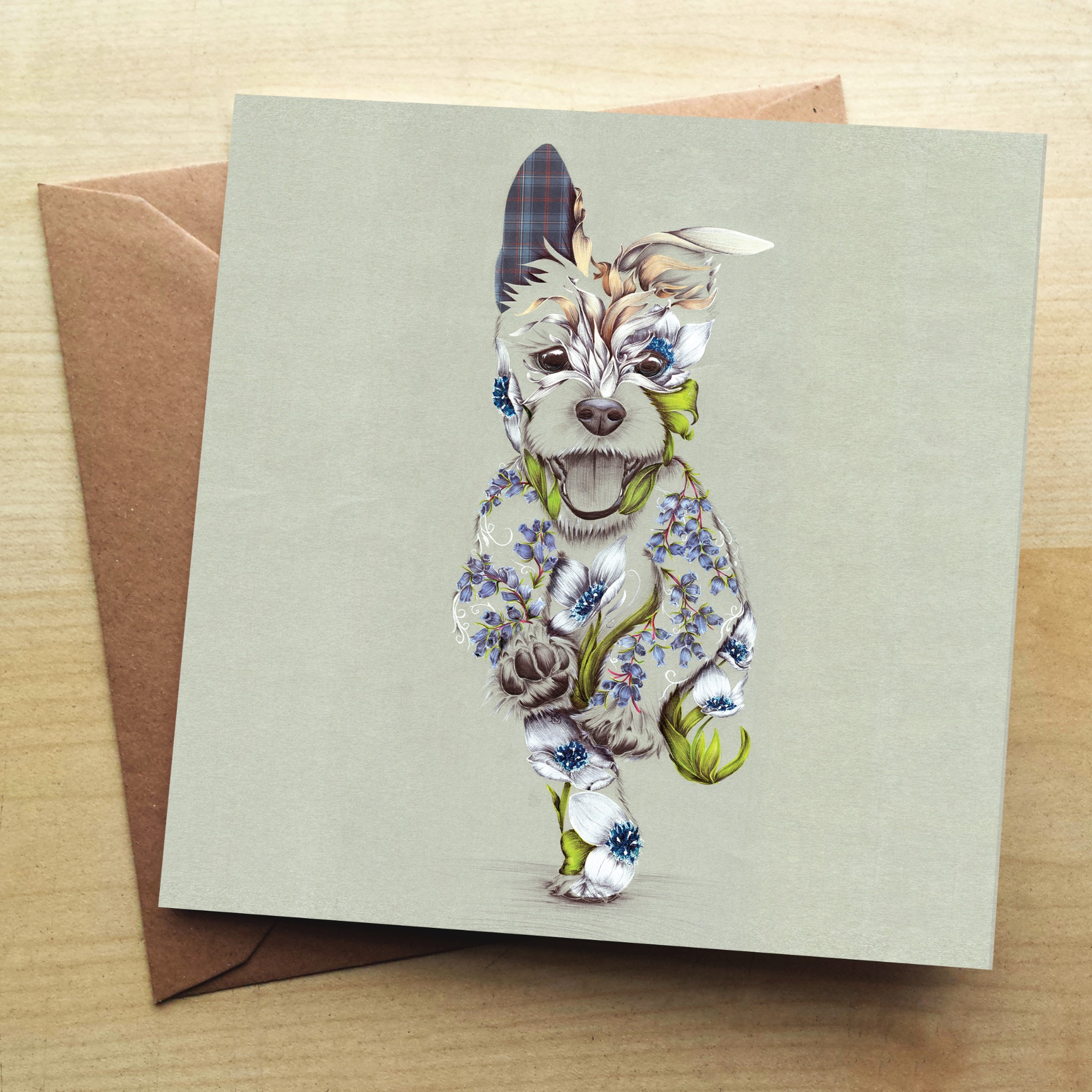 Wraptious Rustic Cairn Greetings Card