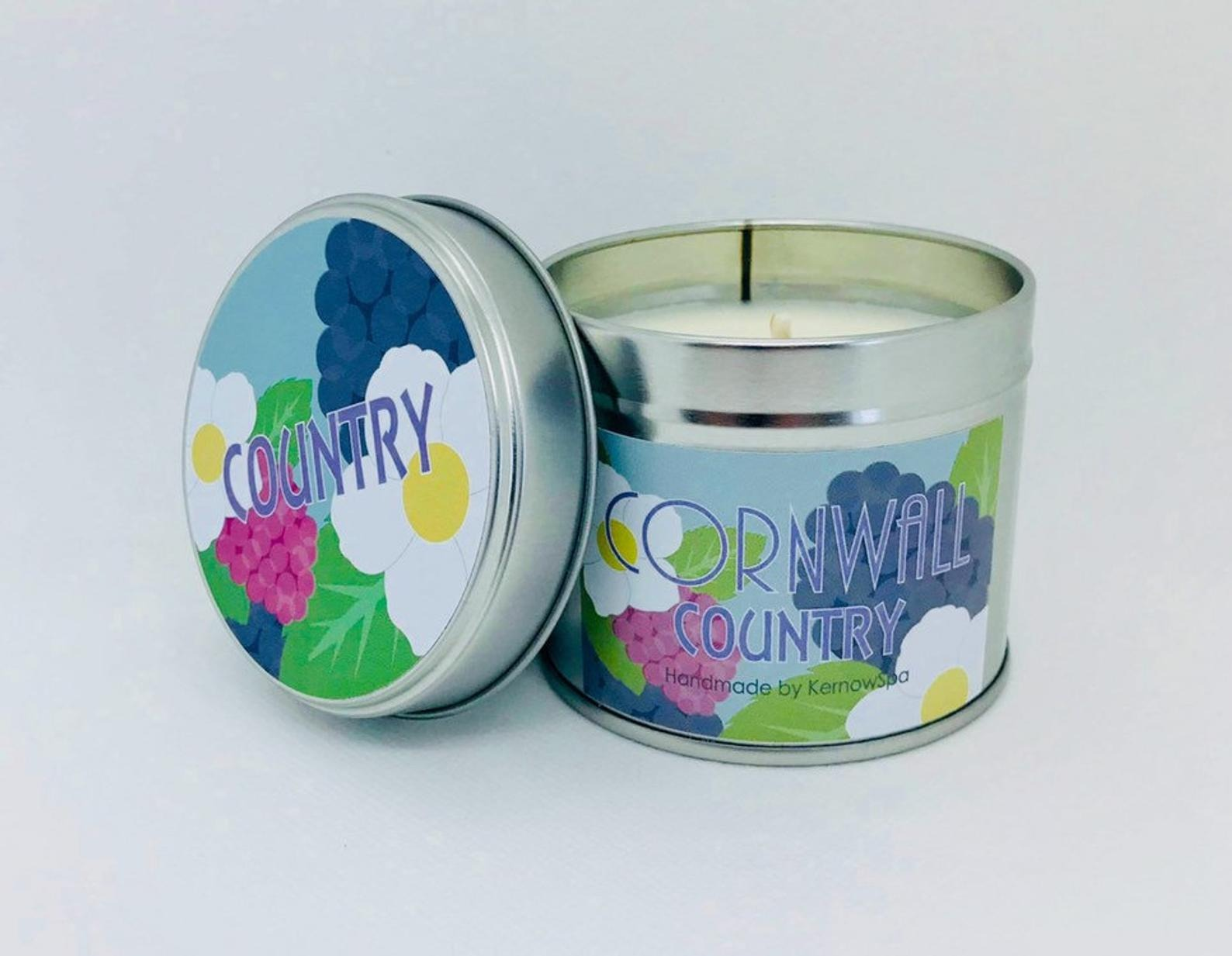 Flossie & Fred Cornwall Country Candle Blackberry & Bay