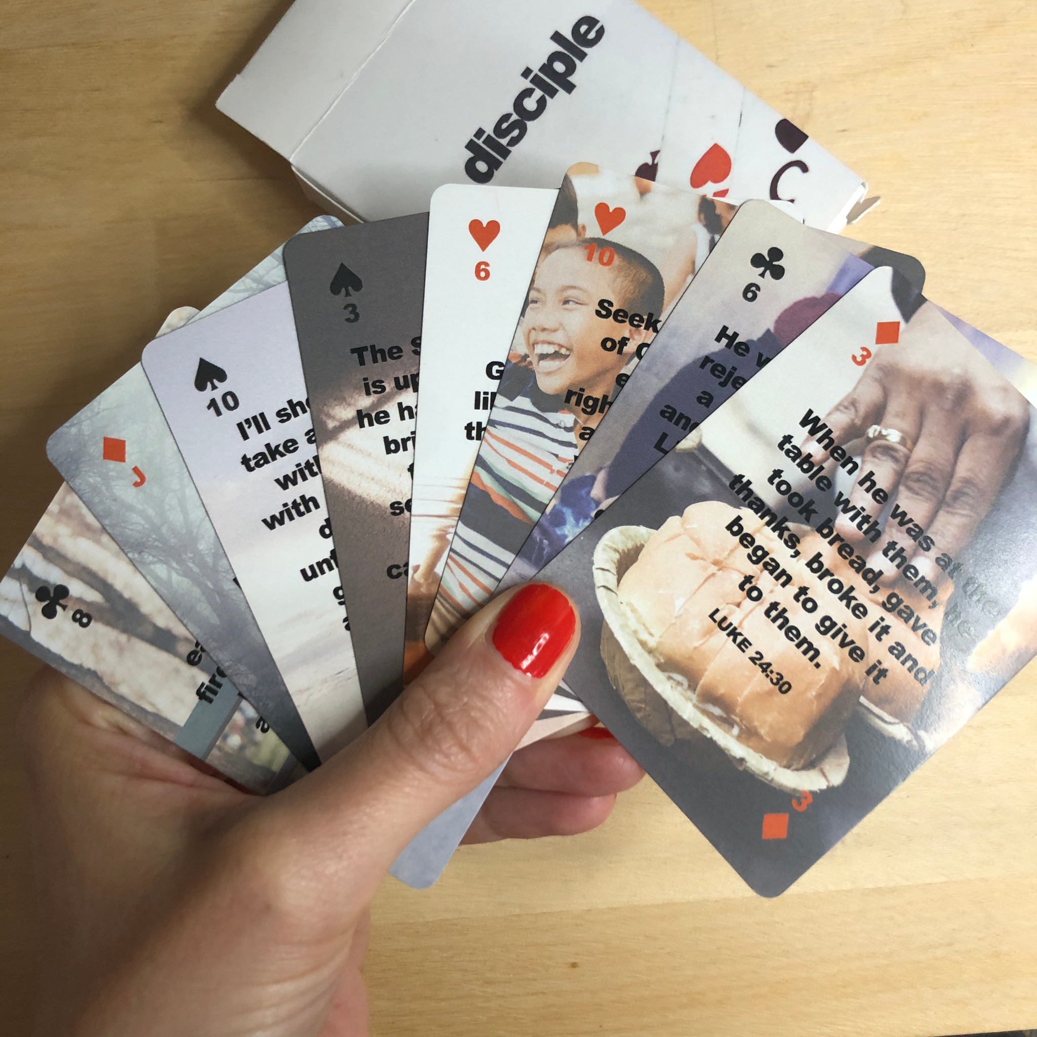 Disciple Playing Cards