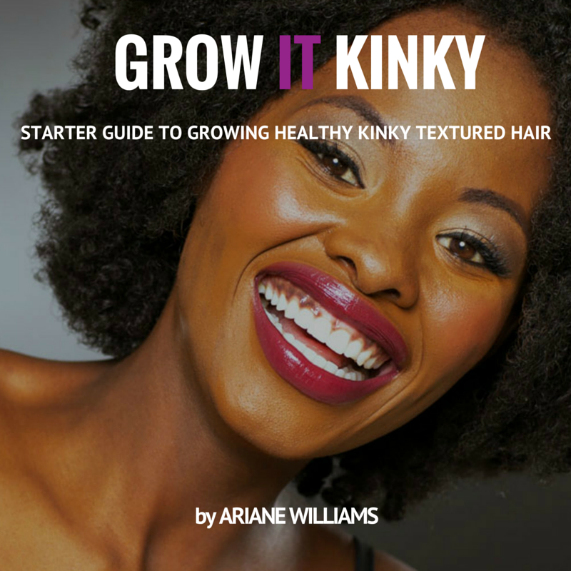 Grow it Kinky Healthy Hair Bundle