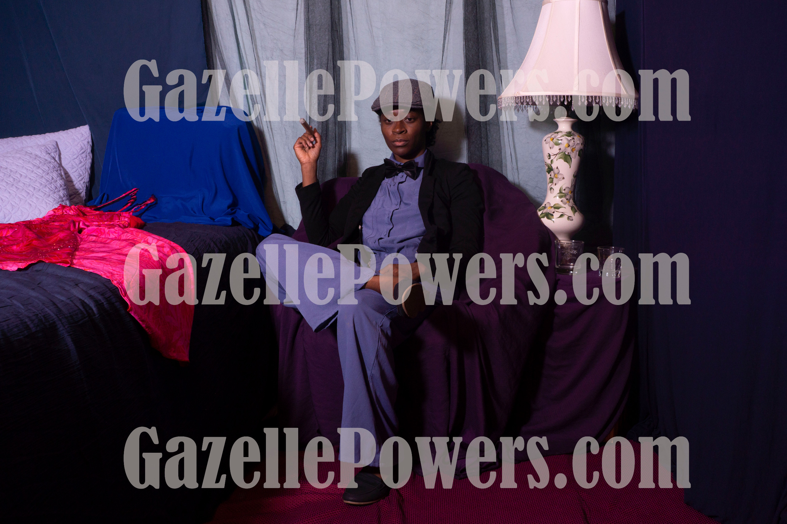 October 11th Session - Dapper Gentleman & Lounging Lady(Character Duo) Set of 3 Photos