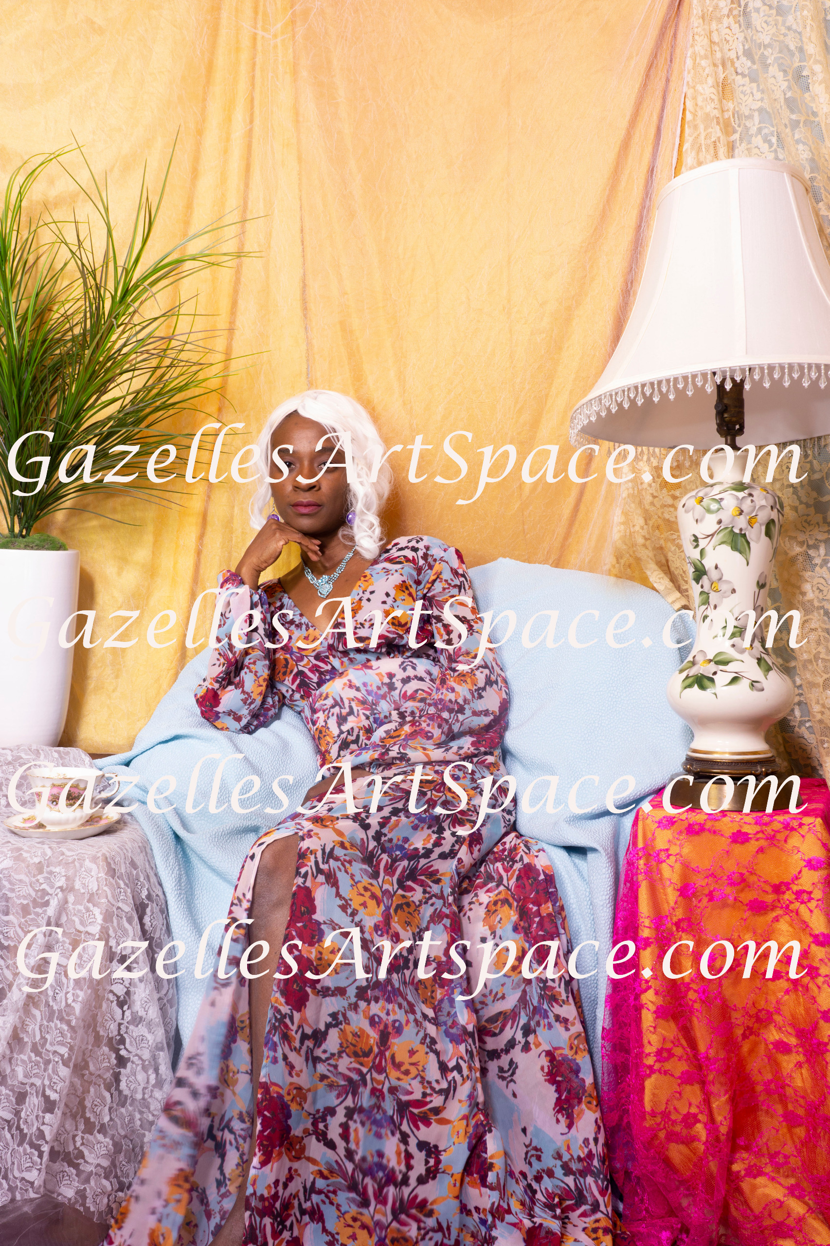 February 7th Session - Afternoon Tea w/3 Muses(Set 2 Photos)