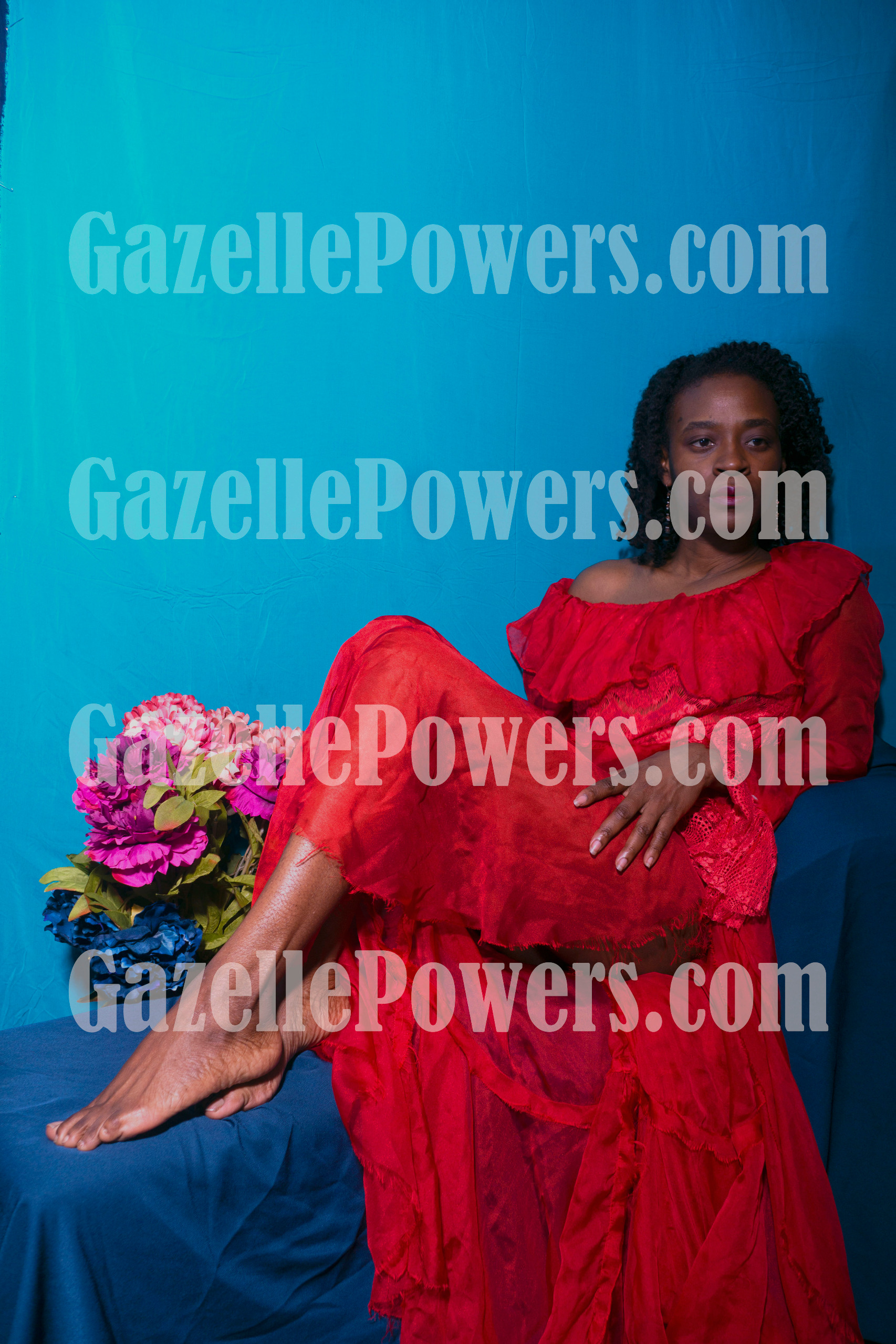 July 12th Session - Lady in Red (Set 10 Photos)