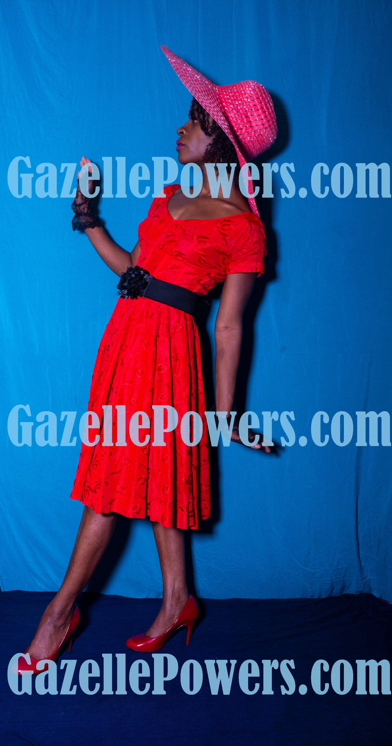 April 18th Session - Vintage Lady in Red #2