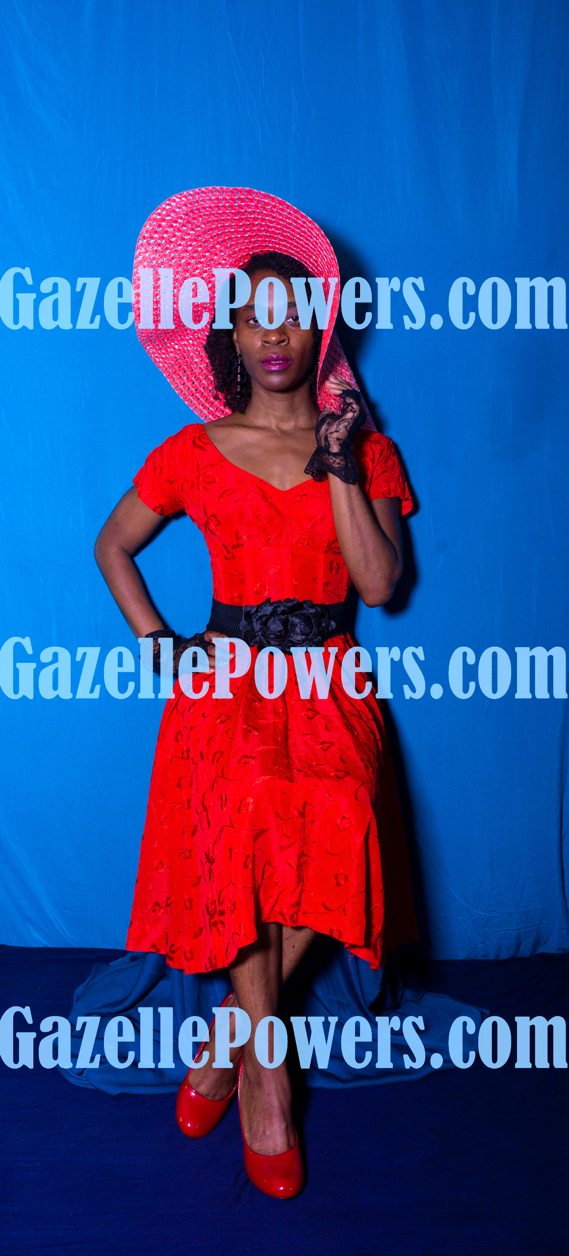 April 18th Session - Vintage Lady in Red #5