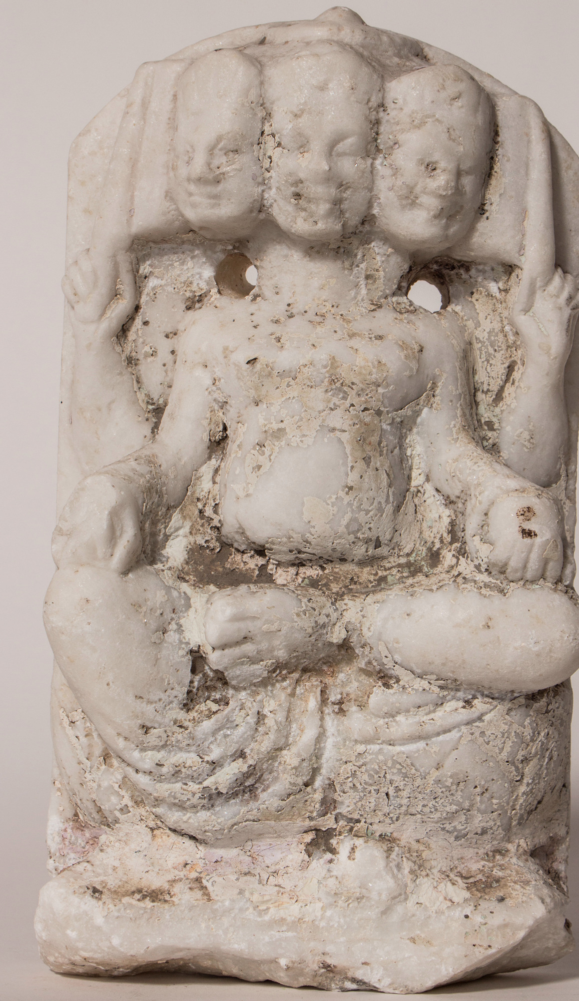 Antique marble Kartikeya  1383