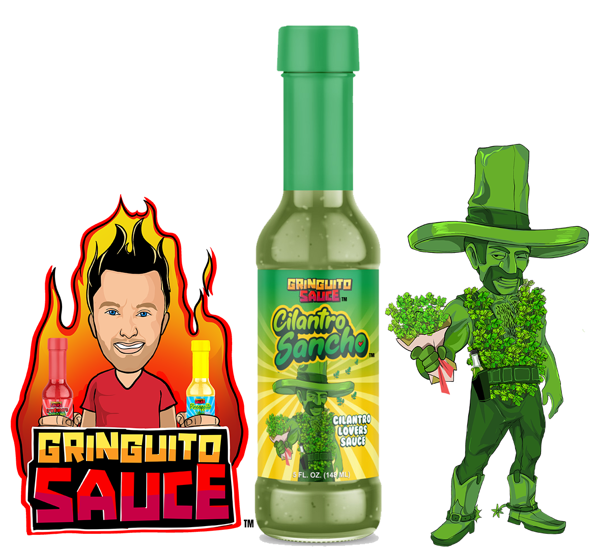 Cilantro Sancho Hot Sauce