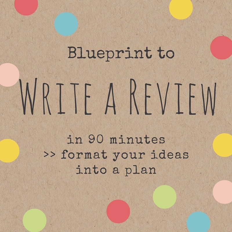 Complimentary Blueprint to Write a Review Today