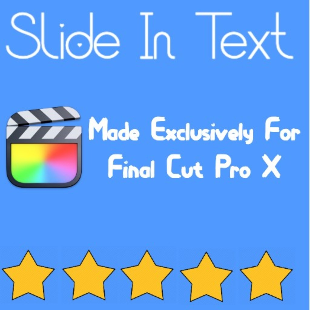 MatyOMGvfx Slide in Title Fcpx Plugin